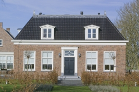 deur, kozijnen, dakkapel verbouwing woonboerderij