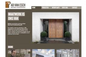 voorbeeld homepage nieuwe website