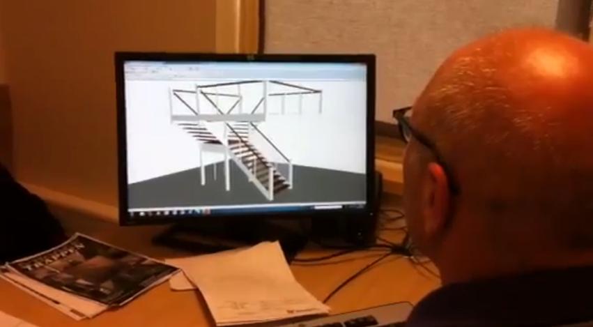 Ad ontwerpt een trap in het nieuwe trappenprogramma