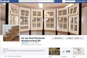 Facebook pagina Ad van Esch BV