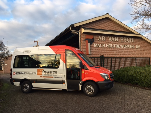 buurtbus reclame Ad van Esch