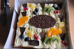 taart 35 jaar Jack